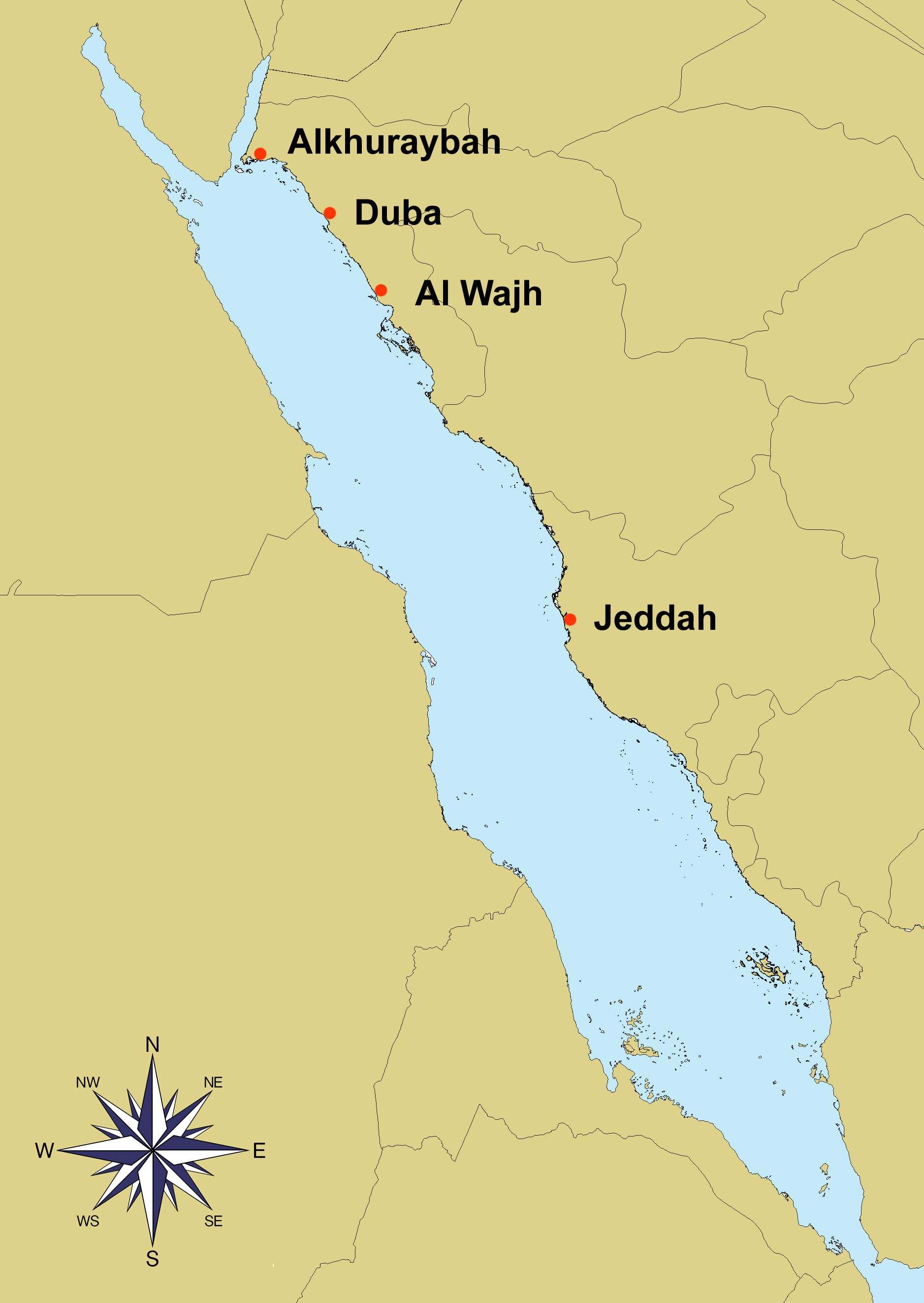 Survey localities 2013